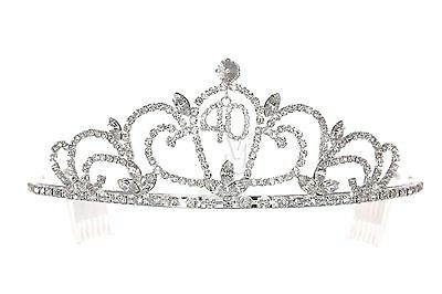 40th Birthday Party Rhinestone Crystal Crown Tiara 1168