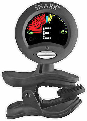 SNARK Chromatic Clip-On Tuner for Guitar, Bass & Violin *NEW* Black SN-5