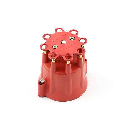 Marine Series Male Distributor Clip On Cap - Red