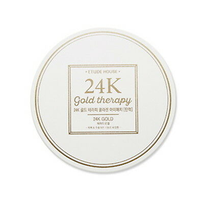 [Etude House] 24K gold Therapy Collagen Eye Patch[elasticity] 1.4g x 60Sheet