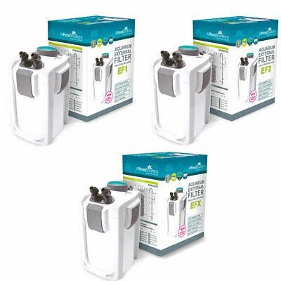 Aquarium Fish Tank External Filter - FREE Media - EF1 EF2 EFX All Pond Solutions