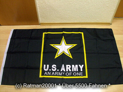 Fahnen Flagge US Army An Army Of One - 90 x 150 cm