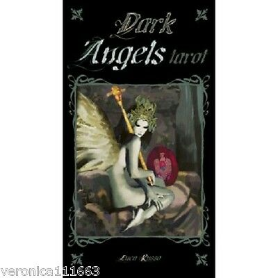 Dark Angels Tarot NEW Sealed 78 Color Cards Deck Gothic Images Luca Russo