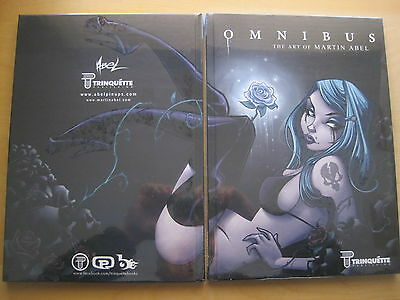 OMNIBUS :ART of MARTIN ABEL.NEW/SEALED FULL COLOR A4 SIZE H/BACK BOOK.TRINQUETTE
