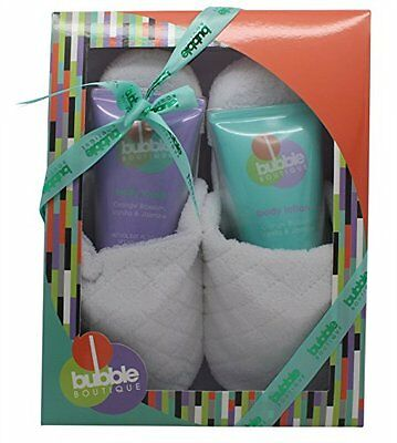 Bubble Boutique Ladies Effervescent Bath & Slipper Gift Set