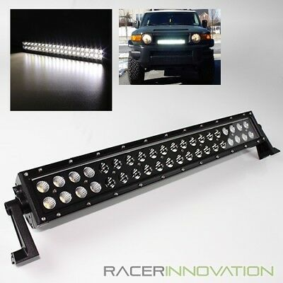 """120W 21.5"""" CREE LED Outdoor/Off Road Spot+Flood Light Bar Rally/Rescue/Work Lamp"""
