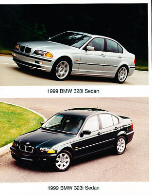 1999 BMW 328i 323i Sport Press Photo Print