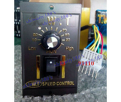 AC 110V 120V Speed Controller For 60W 90W  AC Motor Control CCW CW Reversible