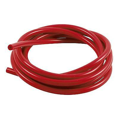 Samco Silicone 3m/3 Metre Rubber Vacuum Tubing/Hose/Pipe 4mm Bore  - Red
