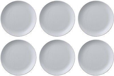 QUEENS JAMIE OLIVER WHITE 6 x SIDE PLATES (SIDE KICK) 19cm - BRAND NEW/UNUSED