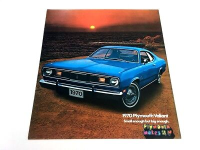 1970 Plymouth Valiant Duster 340 Mopar Original Dealer Sales Brochure