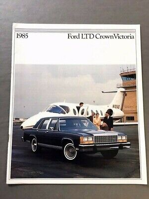 1985 Ford Escort 24-page Original Car Dealer Sales Brochure  Catalog