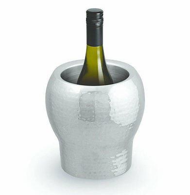 Beaumont Signature Bolargo Wine / Champagne Cooler - Hammered Stainless Steel