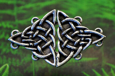 Triangular Celtic Knot Cloak Clasp Celtic Jewelry Irish Jewelry Cloak Clasps
