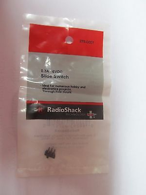 0.3 • 6VDC Slide Switch #275-0007  Radioshack   NEW