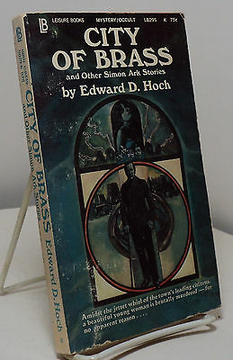 City of Brass by Edward D Hoch -  three Simon Ark stories - 1971