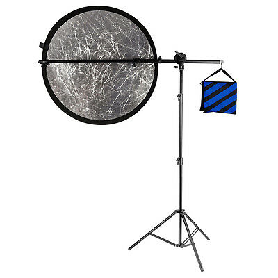 "Neewer 71""/180cm Reflector Holder Arm Support & Light Stand for Photography"