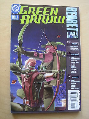 GREEN ARROW : SECRET FILES & ORIGINS one-shot. EVERYTHING ABOUT G ARROW. DC.2002