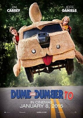 Dumb and Dumber To - original DS movie poster - D/S 27x40 Adv