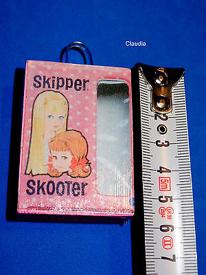 Miniature SKIPPER Doll Case for Display / Accessory VERY NICE