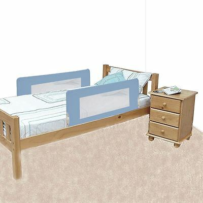 Safetots Double Sided Bed Rail Blue - Portable Travel Folding Child Bedguard