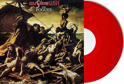 The Pogues - Rum, Sodomy and the Lash -New Red Vinyl LP