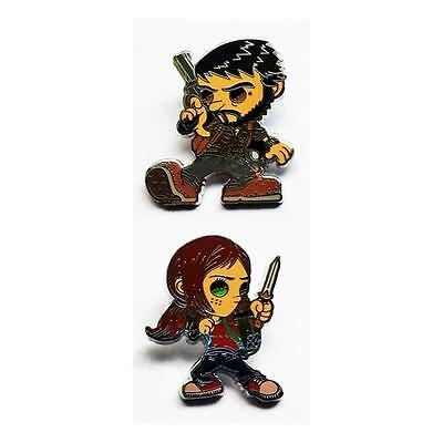 Joel & Ellie Last Of Us Collectible Pin Set Esctoy Playstation Erick Scarecrow