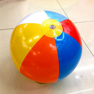 FD3092 Inflatable Beach Ball Pool Swimming Splash Play Party Game Toy Gift 30cm☆