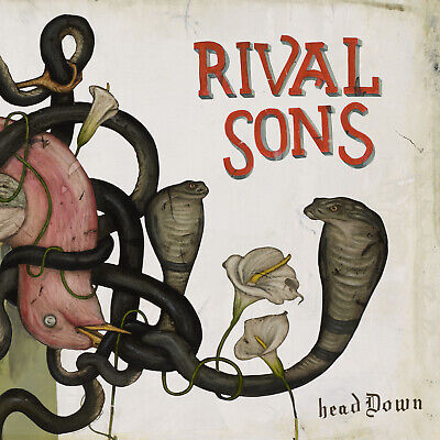 "Rival Sons ""Head Down"" 2 x 12"" Vinyl LP - NEW & SEALED"