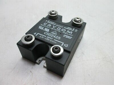 Crydom CSD2425 Solid State Relay, Input: 3.5-15VDC, Output: 240VAC 25A