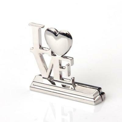 love place table name photo card holder clip wedding party favor gift