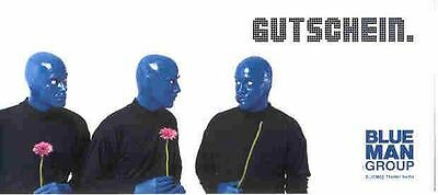 BERLIN Show Blue Man Group Ticket Kat. PS Di Mi Do mit TOP Geschenkgutschein