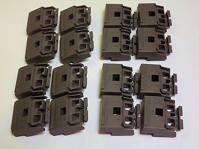 Set of 16 Feet - Same as 5041-8801 Agilent/HP Instrument Feet - Dark Grey NEW