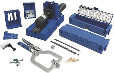 New Kreg K5Ms Pocket Hole Jig Master System  Kit Free Sko3 675 Screw Set