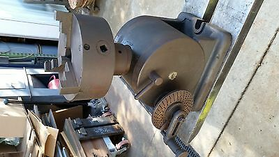 large Indexing Dividing Head L-W Chuck Co. Toledo Ohio USA WITH CHUCK