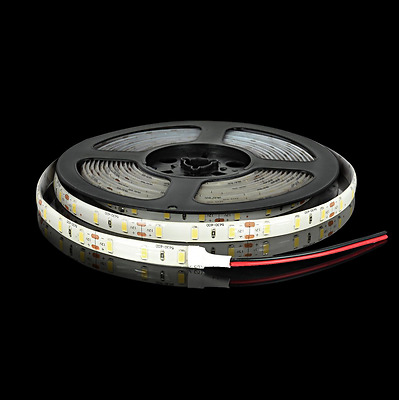 Non-Waterproof  5M 5630 300 SMD 12V LED Strip Lamp Flexible Adhesive Cool White