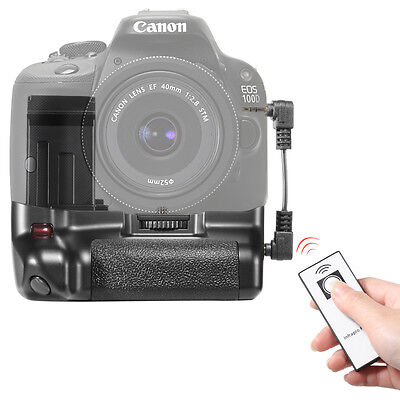 Wireless  Battery Grip with LP-12 Battery Grip Holder for Canon EOS 100D Cameras