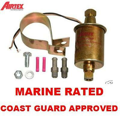 Mercruiser MARINE FUEL PUMP ELECTRIC UNIVERSAL IN LINE 12volt 5psi-9psi 5/16