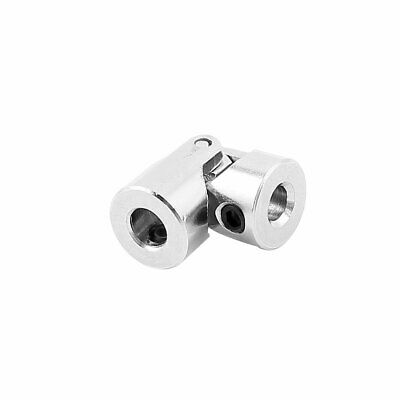 4mm to 5mm Inner Dia. Stainless Steel Rotatable Universal Joint w Tight Screws