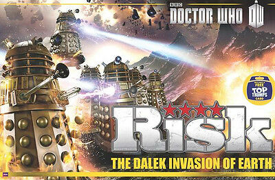 DOCTOR WHO - Risk 'The Dalek Invasion Of Earth' Board Game (Winning Moves) #NEW
