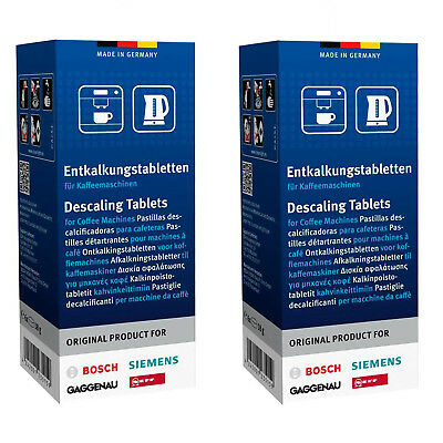 12 x Descaler Tablets For Lavazza VonShef DeLonghi Philips Coffee Machine Kettle