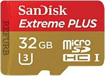 SanDisk 32 GB Micro SD Card Extreme PLUS Flash Memory Card - Class 10 32 GB