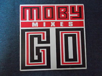 "Moby Go (Mixes) 12"" Outer Rhythm 1991 FOOT 15X"