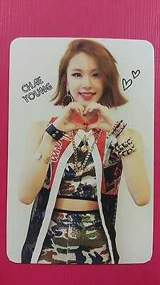 TWICE CHAEYOUNG Official Photocard Red Adult Ver. 1st Album The Story Begins 채영