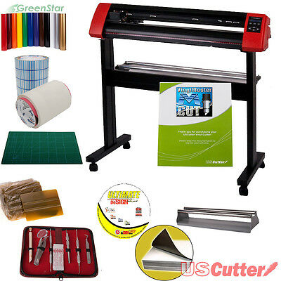 34-Inch Laserpoint II Vinyl Cutter Bundle - Sign Cutting w/Design & Cut Software