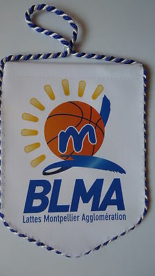 Wimpel Pennant Basketball BLMA Lattes Montpellier # 9 x 12 cm
