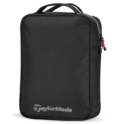 TaylorMade Golf 2017 Players Practice Ball Shag Bag - Black/Grey/Red