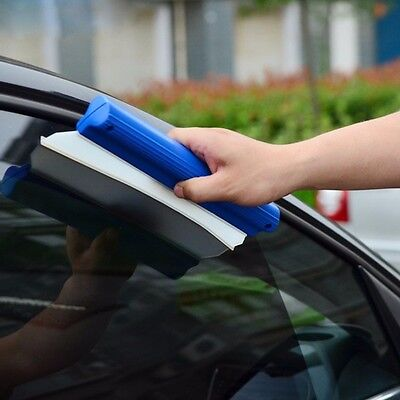 Car Handheld Blade Cleaning Squeegee Window Brush Cleaner Glass Wiper Home