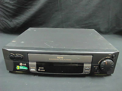 LG VHS Player SRS Audio MODEL : N203W PAL/NTSC