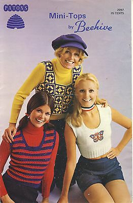 Mini-Tops by Beehive - women's knit and crochet pullover blouses tops